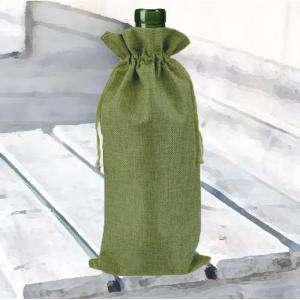 Bolsas de Yute 16x36 cm - Bolsa de Yute Verde Pistacho (Claro ó Clorofila) 16x36 capacidad 15x31 cms.