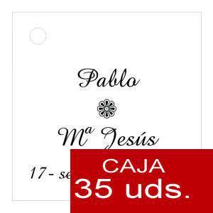 Etiquetas impresas - Etiqueta Modelo A04 (Paquete de 35 etiquetas 4x4)