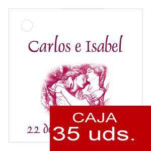 Etiquetas impresas - Etiqueta Modelo A09 (Paquete de 35 etiquetas 4x4)
