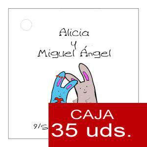 Etiquetas impresas - Etiqueta Modelo B13 (Paquete de 35 etiquetas 4x4)