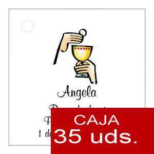 Etiquetas impresas - Etiqueta Modelo B19 (Paquete de 35 etiquetas 4x4)