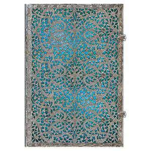 Medieval - Libro de Firmas Azul Maya Grande
