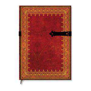 Medieval - Libro de Firmas HOJA DE ORO Grande