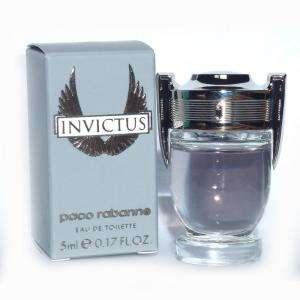 Mini Perfumes Hombre - Invictus Eau de Toilette by Paco Rabanne 5ml. Caja Manchada (IDEAL COLECCIONISTAS) (Últimas Unidades)