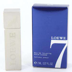 Mini Perfumes Hombre - Loewe 7 Eau de toilette by Loewe - CAJA AZUL 2ml. (IDEAL COLECCIONISTAS) (Últimas Unidades)