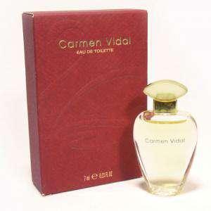 Mini Perfumes Mujer - Carmen Vidal Eau de Toilette by Germaine de Capuccini 7ml. (Ideal Coleccionistas) (Últimas Unidades)
