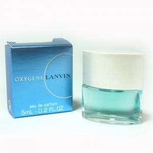 Mini Perfumes Mujer - Oxygene Eau de Parfum (women) by Lanvin 5ml. (Ideal Coleccionistas) (Últimas Unidades)