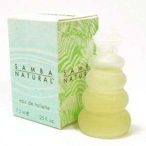 Mini Perfumes Mujer - Samba Natural Eau de Toilette by Perfumers Workshop 7.5ml. (Solo coleccionistas) (Ideal Coleccionistas) (Últimas Unidades)
