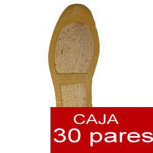 Imagen Mujer Cerradas Alpargatas cerradas MUJER Mimetizadas verde caja 30 pares (Últimas unidades)