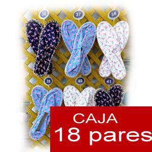 Imagen Mujer Estampadas Alpargatas estampadas FLAMENCOS Caja 18 pares - OFERTA ULTIMAS CAJAS (Últimas Unidades)