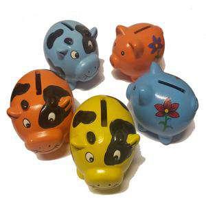 Niños - Hucha Cerdito ceramica mini (Últimas Unidades)