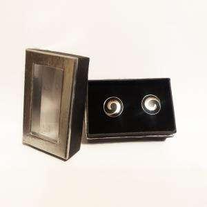 Para Hombre - Gemelos Ref.09 en caja plateada forrada (Últimas Unidades)