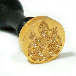 Personalizado con TU diseño - Sello Lacre 4 cms. Personalizado con TU diseño