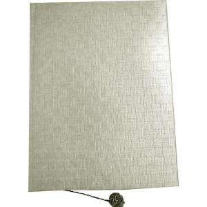 Rafia - Libro de firmas Trenzado de Cesteria Perla