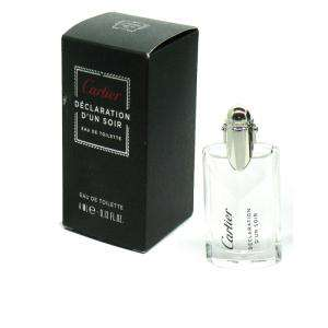 -Mini Perfumes Hombre - Déclaration d Un Soir Eau de Toilette by Cartier 4ml. (Últimas Unidades)