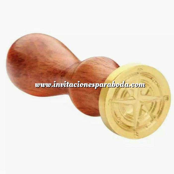 Imagen Símbolos Sello lacre mango largo - COSMICO - Estrella del norte (Últimas Unidades)