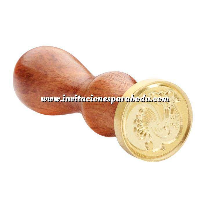 Imagen Símbolos Sello lacre mango largo - HOROSCOPO CHINO- Gallo (Últimas Unidades)