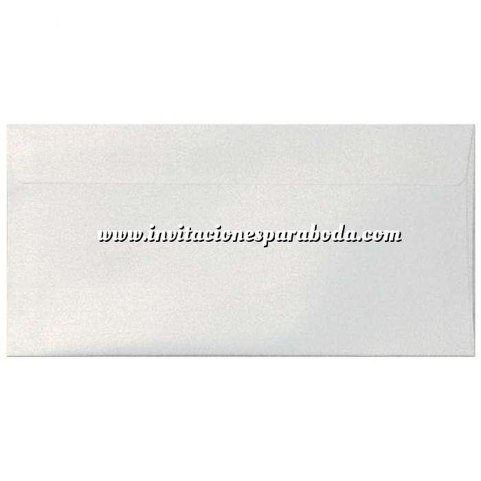 Imagen Sobre Americano DL 110x220 Sobre Perlado Blanco DL