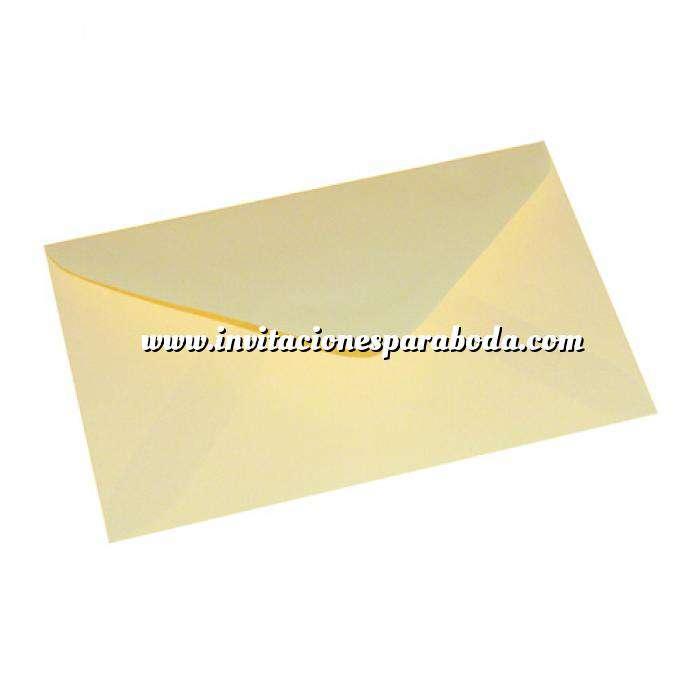 Imagen Sobres 14x9 Sobre de agradecimiento o confirmación en CREMA (Últimas Unidades)