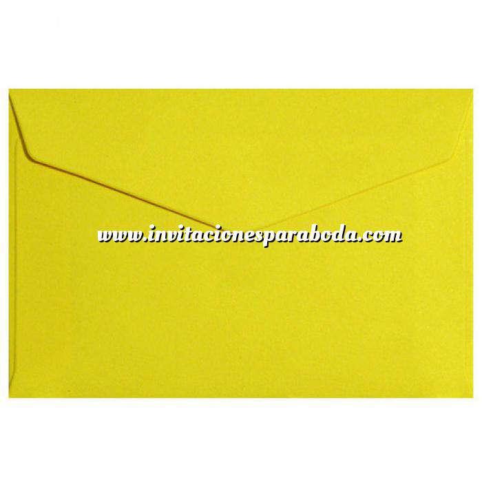 Imagen Sobres C5 - 160x220 Sobre Amarillo oscuro pico c5
