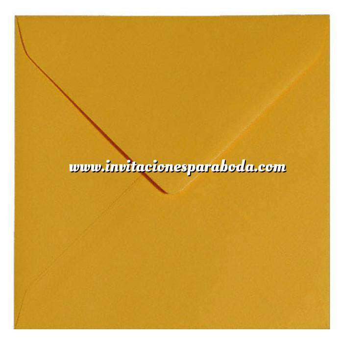 Imagen Sobres Cuadrados Sobre naranja suave Cuadrado