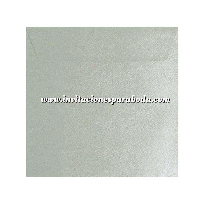 Imagen Sobres Cuadrados Sobre textura gris Cuadrado