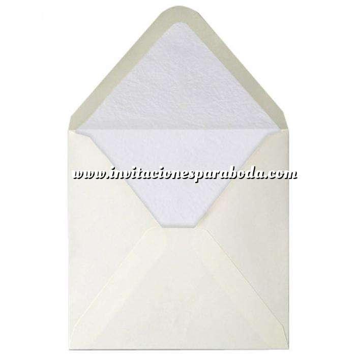 Imagen Sobres Forrados Sobre Beige Cuadrado forro fantasía Blanco (Últimas Unidades)