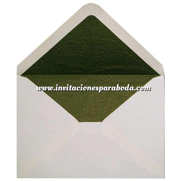 Imagen Sobres Forrados Sobre Beige c5 forro fantasía verde (Últimas Unidades)