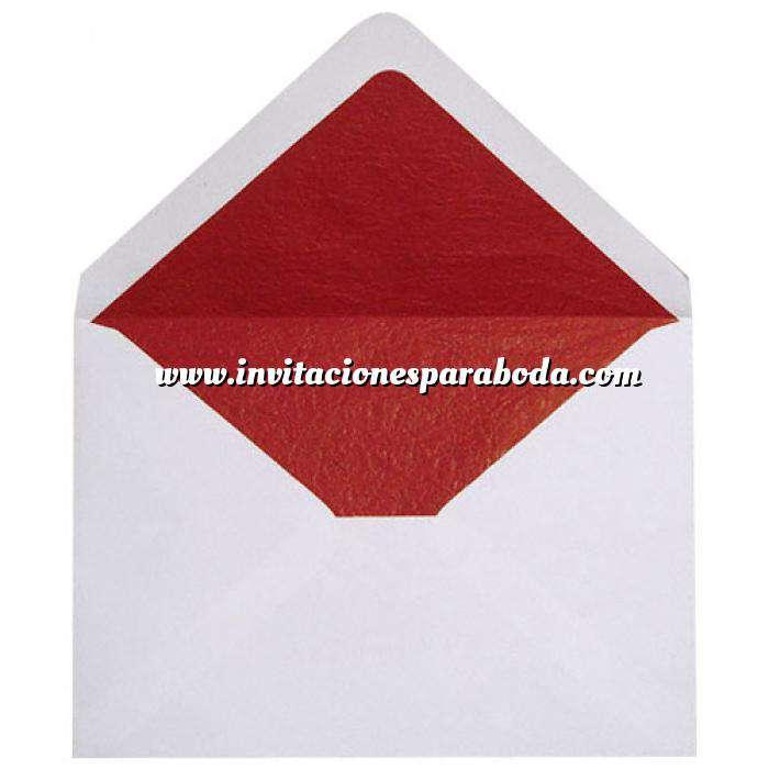 Imagen Sobres Forrados Sobre blanco c5 forro fantasía rojo (Últimas Unidades)