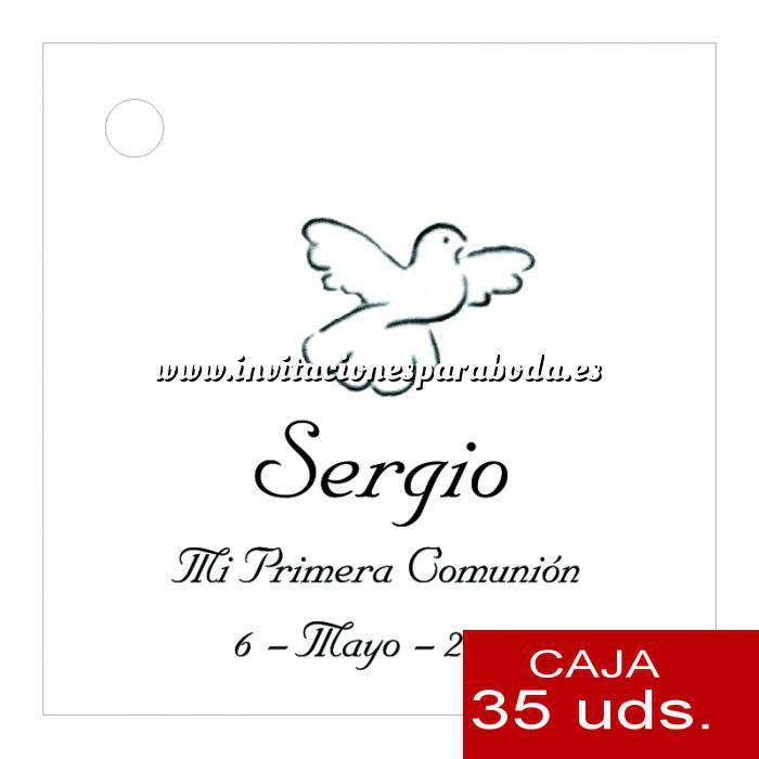 Imagen Etiquetas impresas Etiqueta Modelo C05 (Paquete de 35 etiquetas 4x4)
