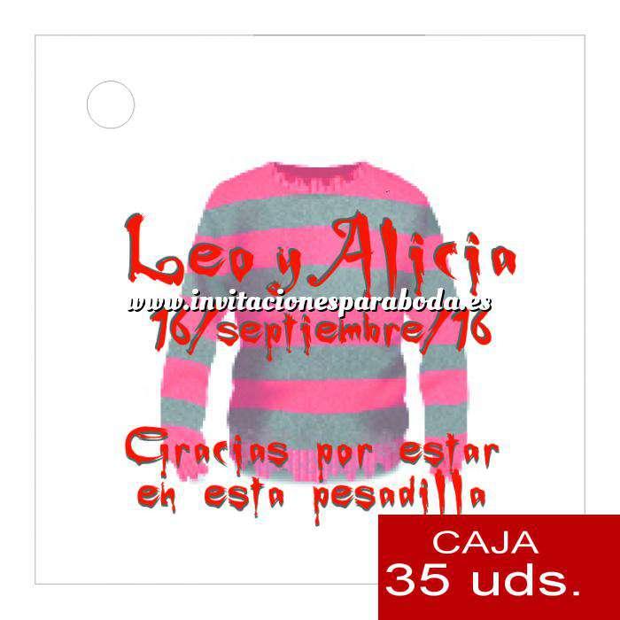 Imagen Etiquetas impresas Etiqueta Modelo D16 (Paquete de 35 etiquetas 4x4)