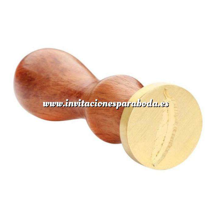 Imagen Símbolos Sello lacre mango largo - BODAS - Pluma MOD 3 (Últimas Unidades)