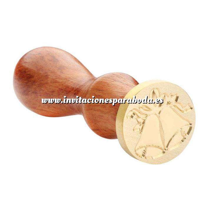 Imagen Símbolos Sello lacre mango largo - NAVIDAD - Campanas MOD.3 (Últimas Unidades)