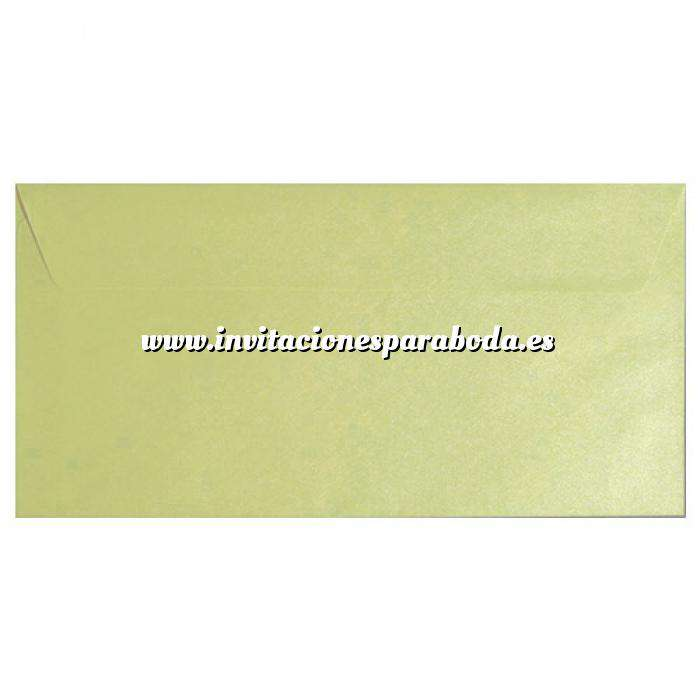 Imagen Sobre Americano DL 110x220 Sobre textura verde DL - Verde Haba