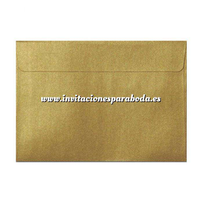 Imagen Sobres C5 - 160x220 Sobre Perlado Oro c5