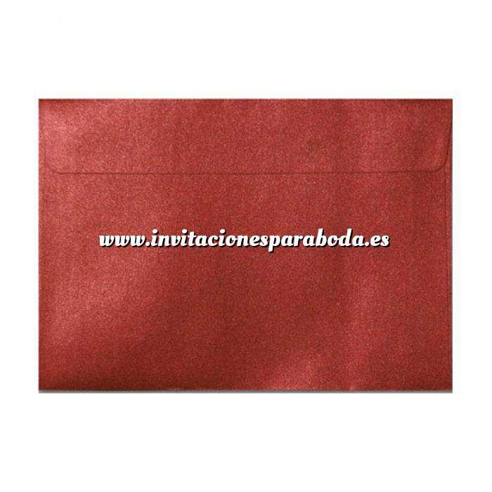 Imagen Sobres C5 - 160x220 Sobre Perlado Rojo c5 (Rojo Cardenal)