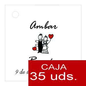 Etiquetas impresas - Etiqueta Modelo A05 (Paquete de 35 etiquetas 4x4)