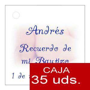 Etiquetas impresas - Etiqueta Modelo A25 (Paquete de 35 etiquetas 4x4)