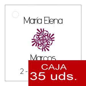 Etiquetas impresas - Etiqueta Modelo B09 (Paquete de 35 etiquetas 4x4)