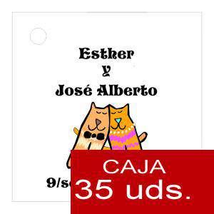 Etiquetas impresas - Etiqueta Modelo C13 (Paquete de 35 etiquetas 4x4)