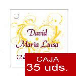 Imagen Etiquetas impresas Etiqueta Modelo E09 (Paquete de 35 etiquetas 4x4)