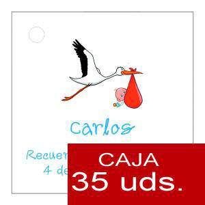 Etiquetas impresas - Etiqueta Modelo E22 (Paquete de 35 etiquetas 4x4)