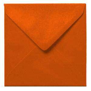 Sobres Cuadrados - Sobre naranja Cuadrado