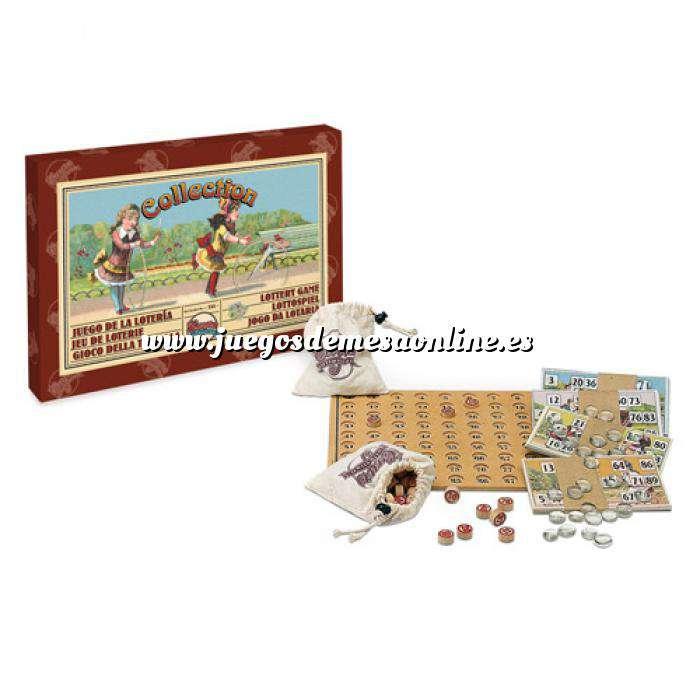 Imagen De Colección Juego clásico de la lotería