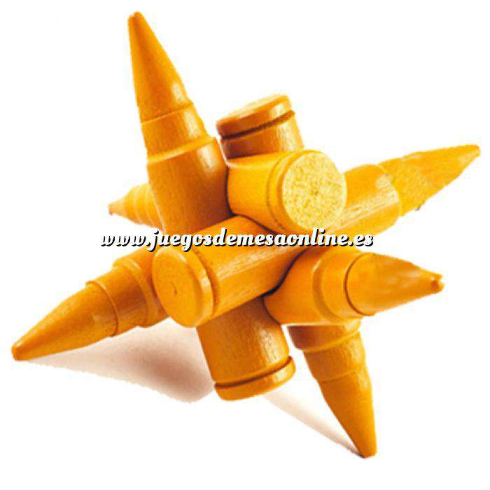 Imagen De madera Puzzle madera Estrella Balas