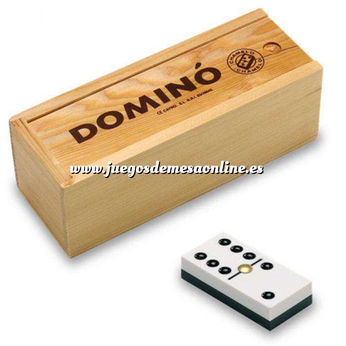 Imagen Dominó Dominó en caja de Pino