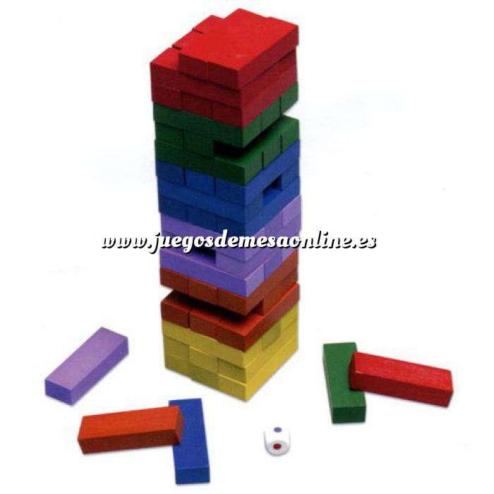 Imagen Juegos Niños en madera Block a Block Classic en colores (Últimas Unidades)