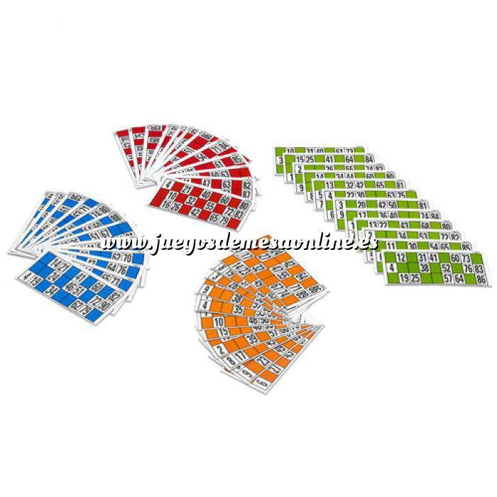 Imagen Otros juegos y Casino Cartones de lotería. 48 Uds.