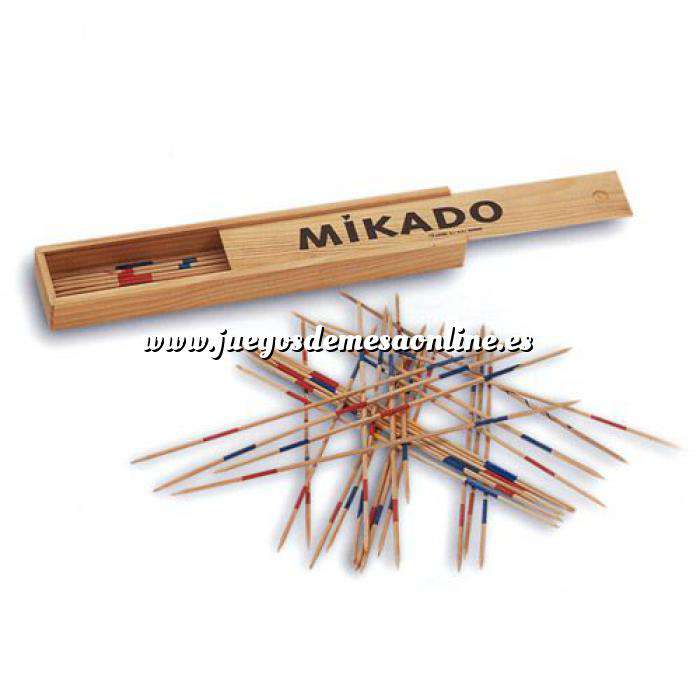 Imagen Otros juegos y Casino Mikado de madera 33 cms.