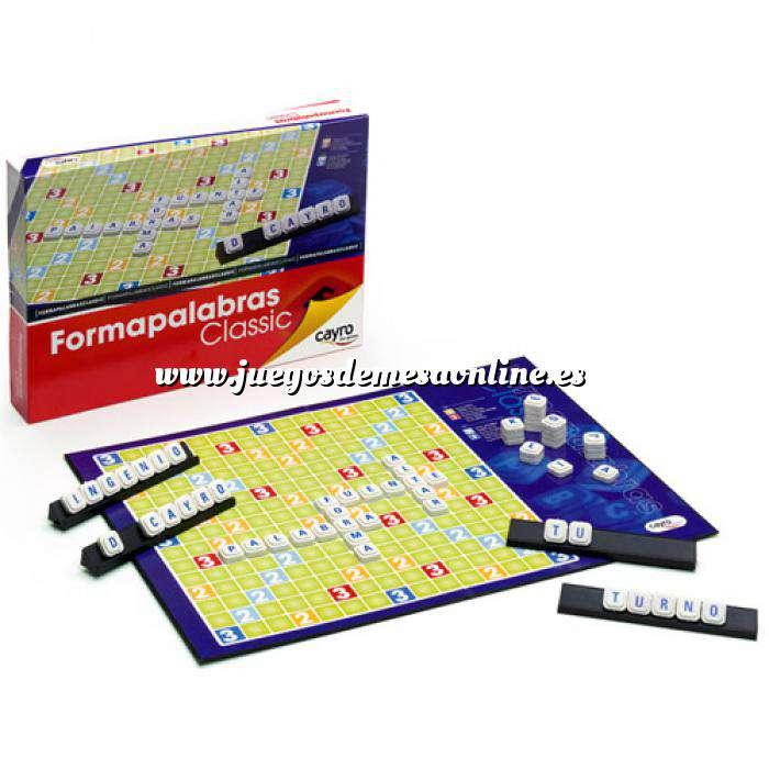 Imagen Otros juegos y Casino Scrabble - Formapalabras